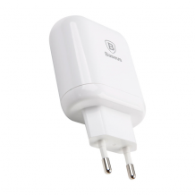 Baseus Bojure Series Dual-USB Quick Charge charger 18W - White-1