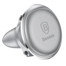 Baseus Magnet Bilholder Med Kabelholder, Sølv-1
