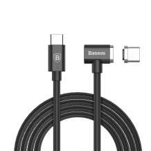 Baseus magnetic USB-C to USB-C cable 1,5m - Black-1