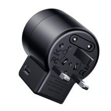 Baseus Rotation Universal Travel Charger - Black-1
