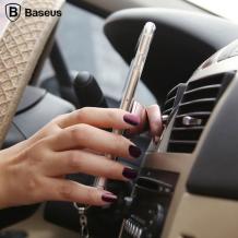 Baseus - SUGENT-DR0R - Rotating Magnetic Car Holder / Phone Mount - Rose Gold-1