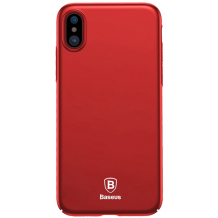 Baseus Thin Case for iPhone X/XS, Red-1