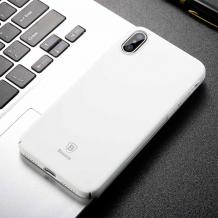 Baseus Thin Case for iPhone X/XS, White-1