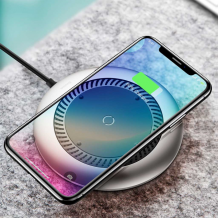 Baseus Whirlwind Wireless Quick Charger, Silver-1