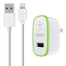 Belkin 2.4 Amp oplader med Apple Lightning stik -1