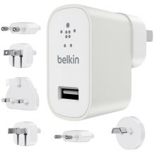 Belkin Global Travel Kit Universal Charger 2.4A White-1