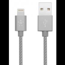 Belkin Premium Lightning Kabel til iPhone / iPad 1,2 m. Space Grey-1