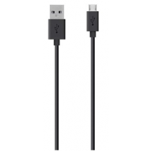 Belkin Sync&Charge MicroUSB Kabel 2m Sort-1