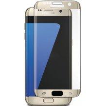 Panserglas til Samsung Galaxy S7 Edge Skærmbeskytter Guld Ramme
