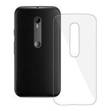 Blødt Cover Til Motorola Moto G 3rd gen, Redneck TPU Flexi Gennemsigtig-1