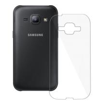 Blødt Cover Til Samsung Galaxy J1, Redneck TPU Flexi Gennemsigtig-1