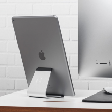 Bluelounge Mika - timeless aluminum stand that suits all tablets!-1