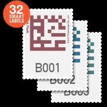 Bluelounge Quick Peek - Smart Storage Labels-1