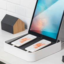 Bluelounge Sanctuary4 - charging station that recharges EVERYTHING!-1