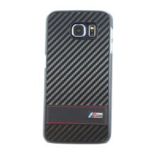 BMW - M Carbon Effect Collection - Hard Cover/ Case - Samsung G920F Galaxy S6 - Black-1