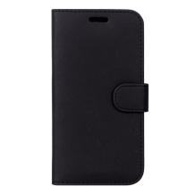 Case 44 No.11 iPhone XS Max Cross Grain Black-1