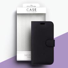 Case 44 No.11 Samsung A7 (2018) Cross Grain Black-1