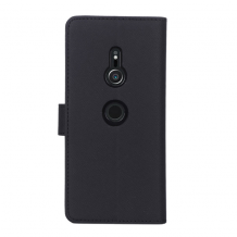 Case 44 No.11 Sony Xperia XZ3 Cross Grain Black-1