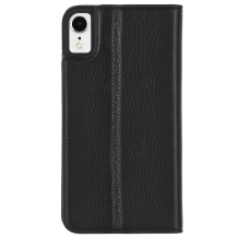 Case-Mate Barely There Folio iPhone XR Black-1