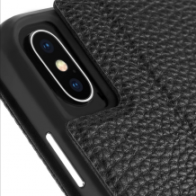 Case-Mate Barely There Folio iPhone XS/X Black-1