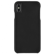Case-Mate Barely There Leather iPhone XS Max Black-1