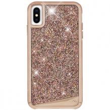 Case-Mate Brilliance iPhone XS/X Rose Gold-1