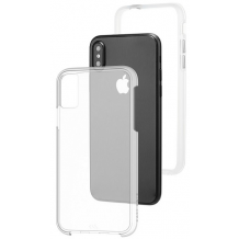 Case-mate Naked Tough Cover til iPhone X Clear/Transparent-1
