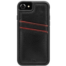 Case-Mate Tough ID Læder Cover iPhone 8/7/6S Sort-1