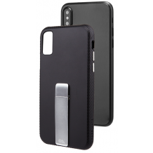Case-Mate Tough Stand cover iPhone X Sort/Sølv-1