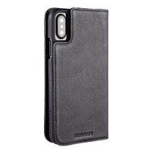 Case-mate Wallet Folio taske/pung i ægte læder Til iPhone X/XS-1