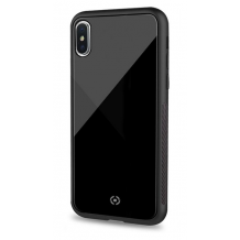 CELLY DIAMOND GLASS CASE (IPHONE X 6.5 2018 BLACK)-1