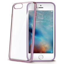 CELLY LASER EDGE COVER (APPLE IPHONE 7 ROSE)-1