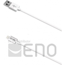 Celly Lightning to USB Cable 2,0 Meter MFI white-1