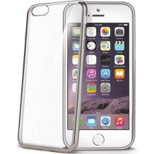 Celly Laser Cover til iPhone 7 Sølv/Transparent