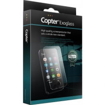 Copter Exoglass Full Fit Curved til iPhone X Hvid-1