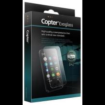 Copter Exoglass sikkerhedsglas med buet kant til Samsung Galaxy S6 Edge, Hvid-1