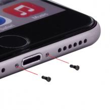 Cyoo - 10pcs Case Screws - Apple iPhone 7, 7 Plus - Black-1