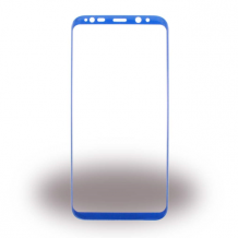 Cyoo - 4D - Tempered Glass Screen Protector - Samsung G955F Galaxy S8 Plus - Blue-1