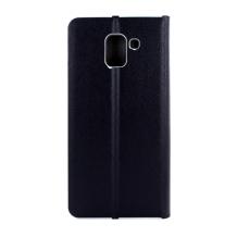 Cyoo - Held Premium - Leatherette Book Cover - Samsung J600F Galaxy J6 (2018) - Black-1