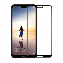 Cyoo - Huawei P20 Lite - Screen Protector Tempered Glass 5D - Black-1