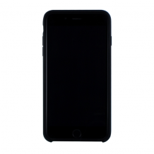 Cyoo - Premium Liquid Silicon Hard Cover - iPhone 7 Plus - iPhone 8 Plus - Black-1
