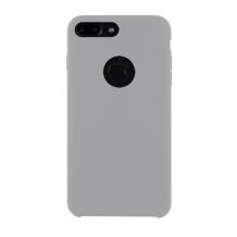 Cyoo - Premium Liquid Silicon Hard Cover - iPhone 7 Plus - iPhone 8 Plus - White-1