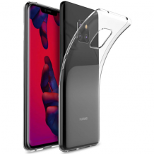 Cyoo - Silicon Case - Huawei Mate 20 Pro - Ultra slim - Cover - Transparent-2
