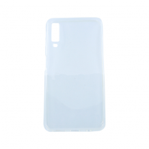Cyoo - Silicon Case - Samsung A750F Galaxy A7 (2018) - Ultra slim - Cover - Transparent-1