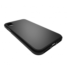Cyoo - Silicone Cover - iPhone Xs Max - Black-1