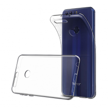 Cyoo - Ultra Slim - Silicone Cover - Huawei Honor 8 – Transparent-1