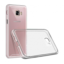 Cyoo - Ultra Slim - Silicone Cover – Samsung Galaxy J3 (2017) - Transparent-1