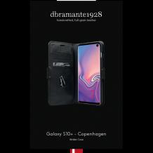 dbramante1928 Copenhagen Læder Flipover Til Samsung Galaxy S10/S10+ (Plus), Sort-1