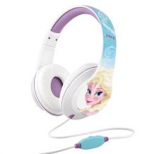 Disney Frost Hovedtelefoner Elsa Med Mikrofon Til Børn Fra 9 år-1