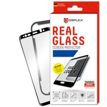 Displex - Real Glass 0,33mm 3D  + Frame - Samsung A750F Galaxy A7 (2018)- Screen glass Protectors - black-1